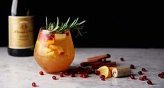 Ménage à Trois: Toast to the Holidays with this Toasty Apple Cider Sangria Cocktail Recipe