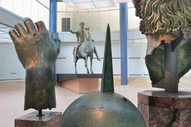 Marco Aurelio en Roma.