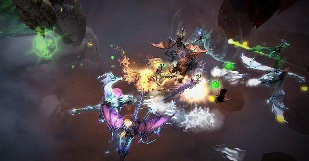 Dragons and Titans é um novo estilo de jogo MOBA, empurrando os limites dos jogos baseados no browser.