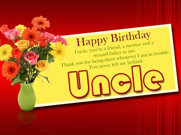 Happy Birthday Wishes for Uncle – Birthday Uncle Images