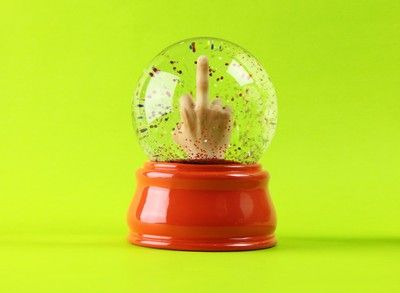 Instant Fuck You Snow Globe: 20 Beautiful, Gift Ideas, Some People, Snow Globes, Funny, The Offices, Beautiful Creative, Products, Instant Fuck