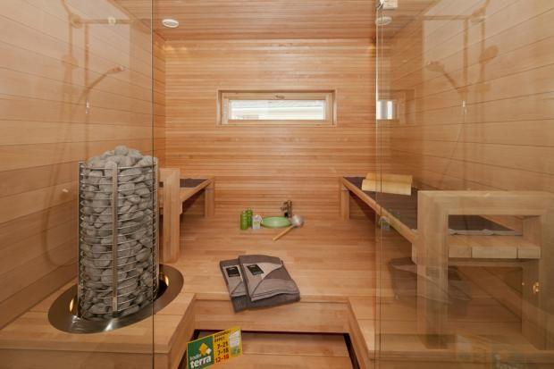 rantakivi-sauna Asuntomessut - tervaleppä
