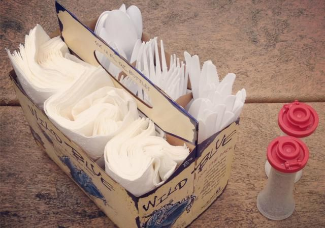 Camping Hack: Repurpose a 6-Pack Holder - pinned from secondchancetodream.com