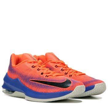 Nike Men's Air Max Infuriate Low Basketball Shoe Shoe  http://www.famousfootwear.com/en-US/Product/71328-1038803/Nike/Crimson_Blue/Mens+Air+Max+Infuriate+Low+Basketball+Shoe.aspx