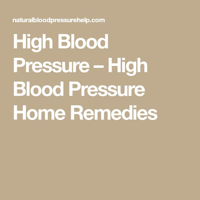 how to stop high blood pressure medicine