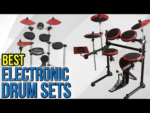Electronic drums are a good substitute for acoustic kits for many reasons. E-drums are more portable and have the lesser necessary hardware. Secondly, these electronic kits also produce lesser noise compared to drums with resonating drum heads. These also provide more percussion voices plus it comes with a headphone jack so that you can practice without making any noise. You can also play along saved tracks on the drum's module and practice you
