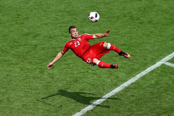 Has Xherdan Shaqiri scored the Goal of Euro 2016? What about Cristiano Ronaldos flick? [Tweets]