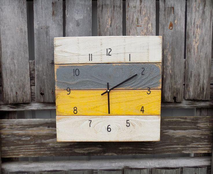 17 Best Images About Pallet Clocks On Pinterest