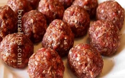 Die lekkerste meatballs | Boerekos.com – Kook en Geniet saam met Ons!