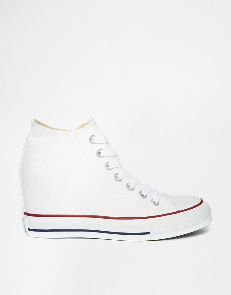 Immagine 1 di Converse - All Star Lux - Scarpe da ginnastica bianche con zeppa