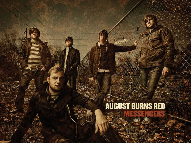 August Burns Red - one of the most successful Christian metal bands ever :)