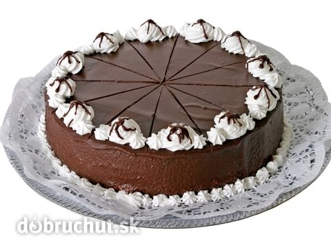 Slávnostná torta -  Vymiešame si spolu žĺtky, vanilkový a práškový cukor a postrúhanú čokoládu. Miešame asi pol hodinu. Potom po lyžiciach...
