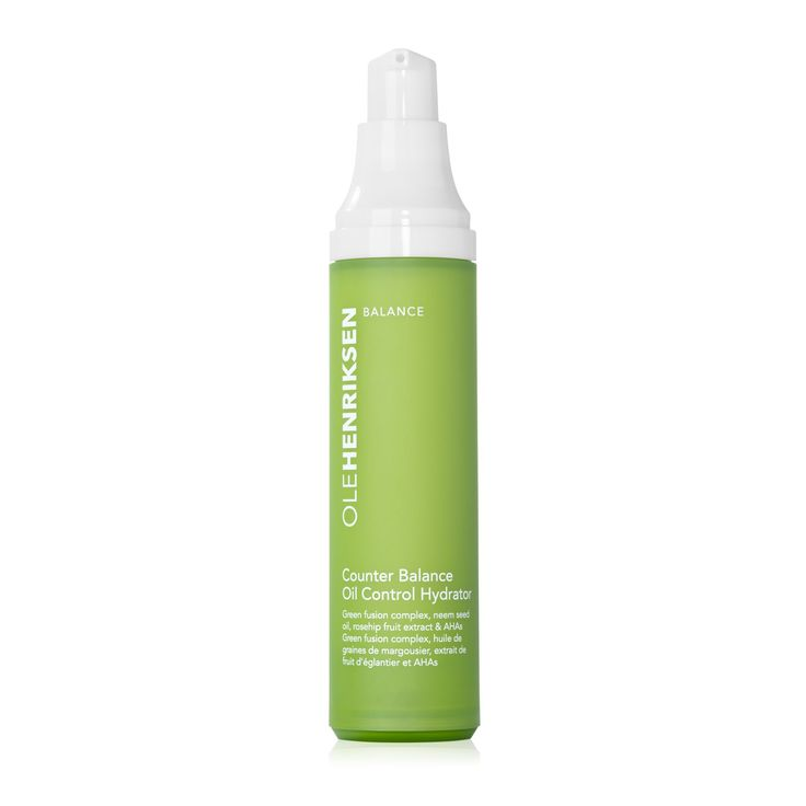 Ole Henriksen - counter balance™ oil control hydrator is a lightweight, mattifying hydrator gives oily and combination skin types the essential moisture they crave. Oily skin needs hydration, too, to look its healthy best.