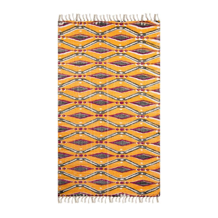 Buy Marinette Saint Tropez Louam Orange Rug | Amara