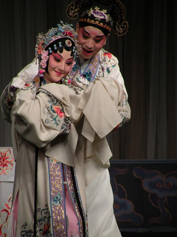 Chinese opera performing arts
