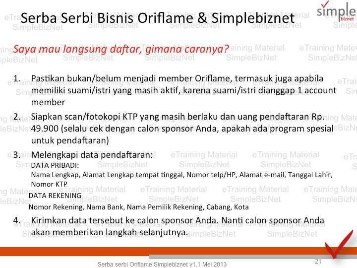 Slide 21  www.berbisnisdarirumah.com/?id=EEN-dya CP: EEN - 089656422200