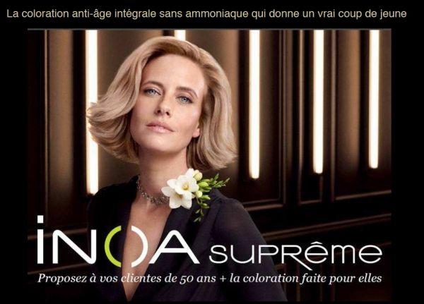 inoa suprme pour les femmes mtures - Coloration Inoa Supreme