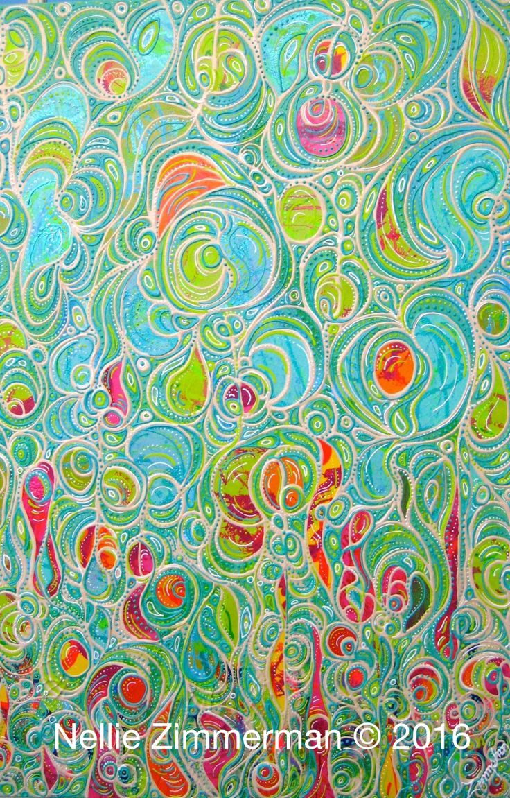 Jelly Fish II 60x90cm  Nellie Zimmerman © 2016