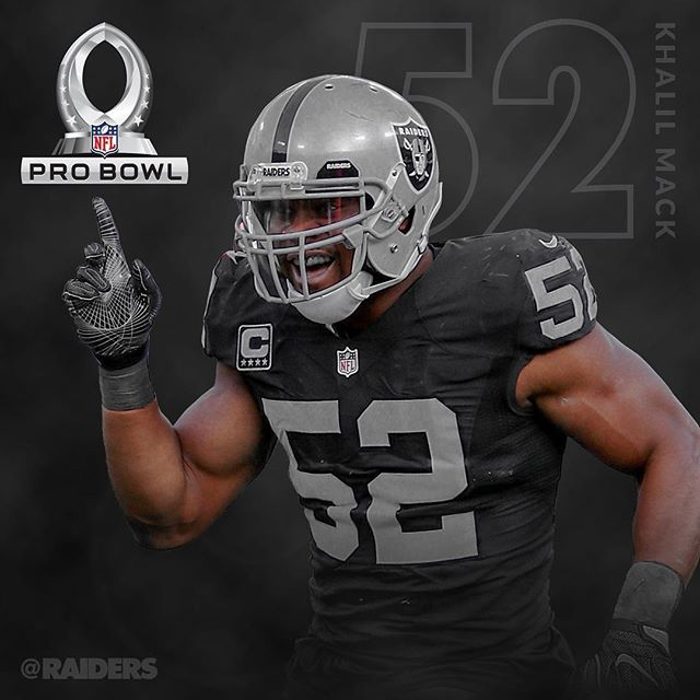 Congratulations to Khalil Mack on being named to the Pro Bowl!
