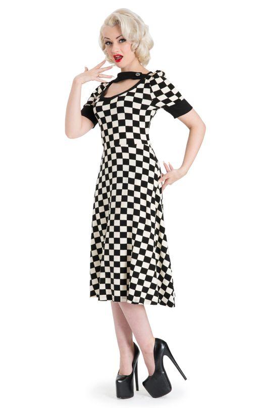 Kick ass checkered flag dress