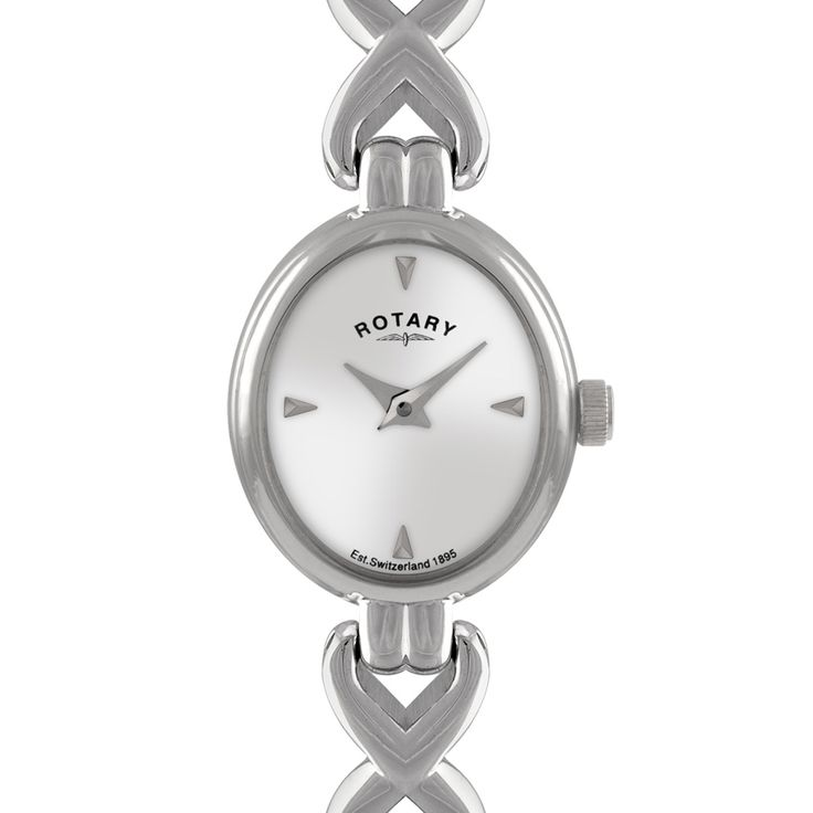 Rotary Timepieces Ladies White Case Watch - LB00214/06