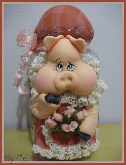 Piggy jar.