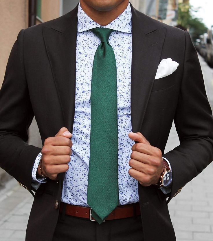 25 best ideas about shirt and tie combinations on for Mens black suit and shirt combinations
