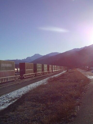 Train Yard, Jasper, AB