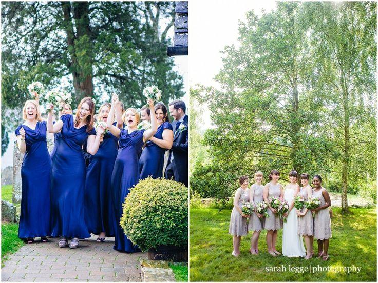 Bridesmaids group photographs