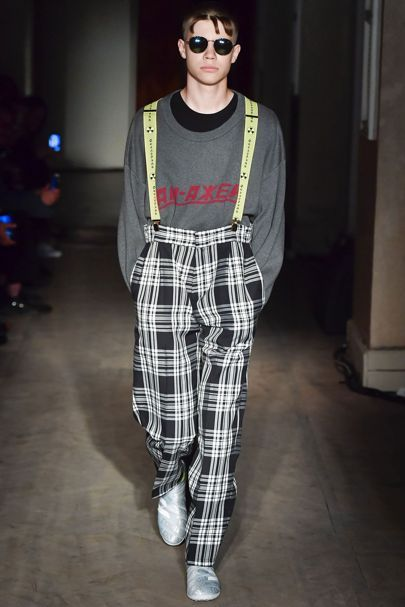 Burberry x Gosha Rubchinskiy Spring/Summer 2018 Menswear Collection | British Vogue