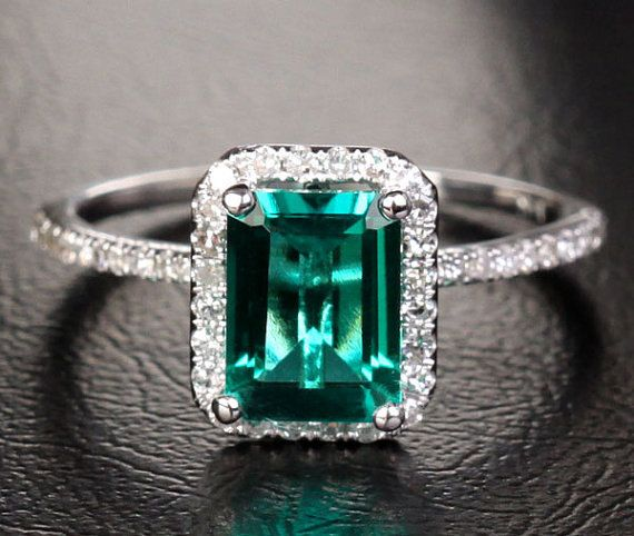 1000+ images about Emeralds on Pinterest | White gold, Accessories shop and  Sterling silver