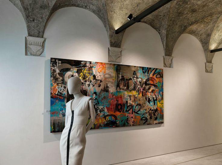 """DANA"" Concept Store - #conceptstore #churchboutique #church #interiors #art #gallery #fashion #dana"