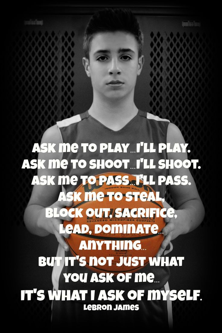Lebron James Basketball Quote