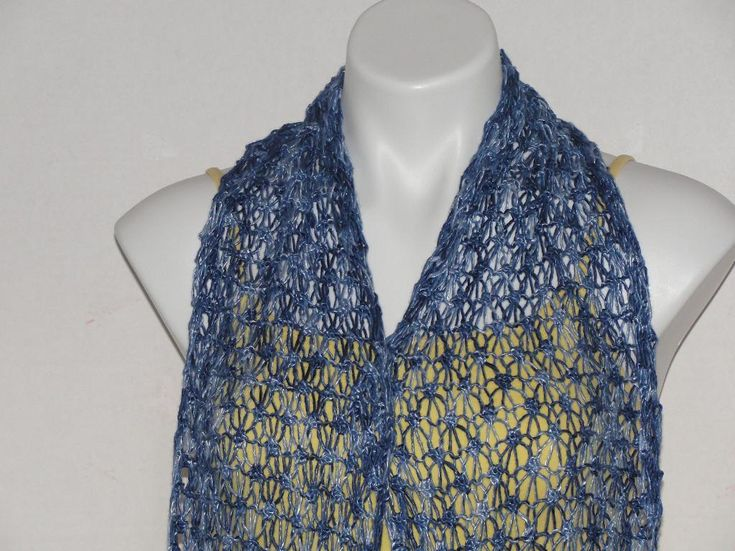 28 Best Images About Knit Lace Scarves And Shawls On