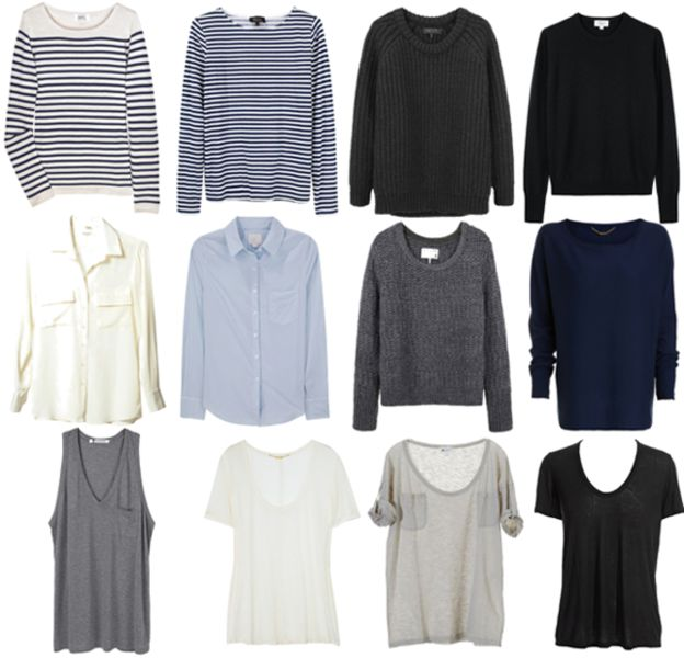 Dead Fleurette The Basic Wardrobe Capsule Wardrobes Pinterest T Shirts Classic And
