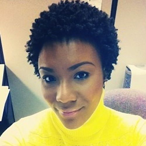 Hair Style Icons : Ebony // Natural Hair Style Icon Black Girl with Long Hair