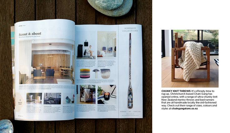 Chain Gang is featured in Homestyle Magazine June/July 2015!