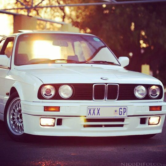 Bmw 325is Xxx Gp White Gusheshe Spin Stylized Crew Customs