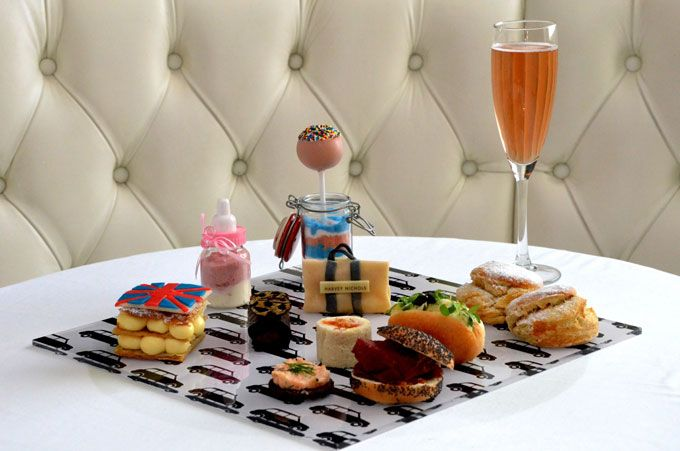 Viva Forever Afternoon Tea at Harvey Nichols Fifth Floor Bar until the end of February 3-5pm £30 per person