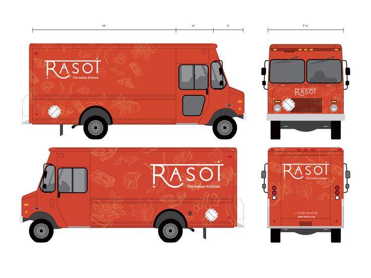 Food Truck Patisserie Logo