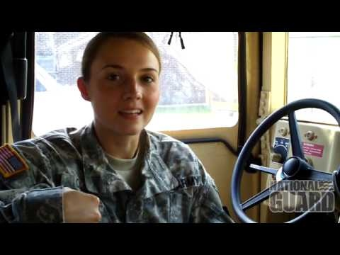One of our own. SGT Katie Cash's success story on serving in the Maine Army National Guard!