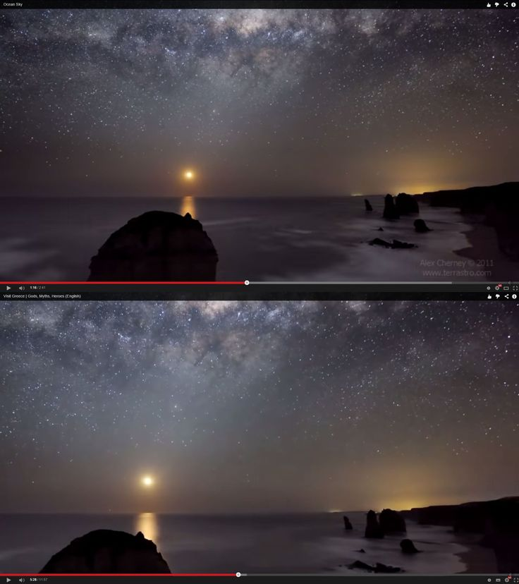 Footage by Alex Cherney of the Twelve Apostles, an Australian landmark, was used in the EOT video without permission (Screengrabs)