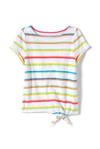 44cdbb4c6a910a Girls Knot Front Slub Pattern Knit Top   Design in 2019   Stylish ...