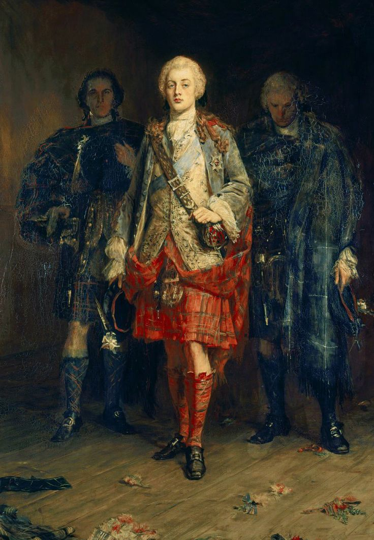 """Bonnie Prince Charlie"" by John Pettie, (1898) oil on canvas."