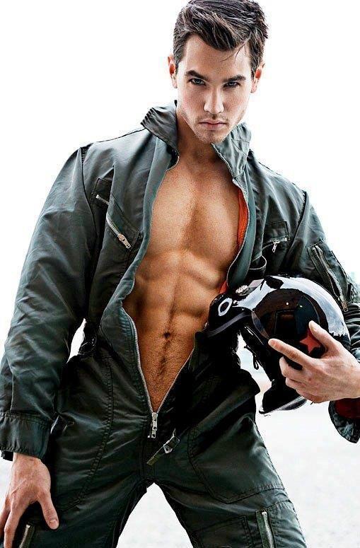uniform male model sexy
