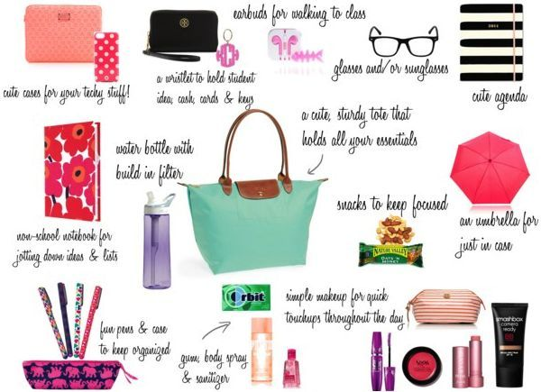 982b5b982ce College and or work tote bag essentials that every stylish and busy woman  must have
