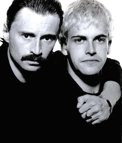 Jonny Lee Miller and Robert Carlisle