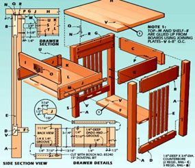 Elegant  Bouwtekeningen Met Stapsgewijze Instructies DHZ Gidsen Gedetailleerde Uitleg GRATIS DWG u CAD software