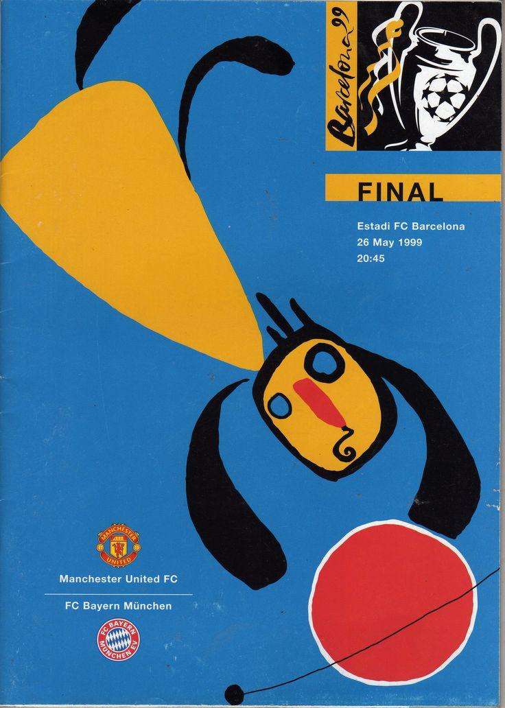 1999 European Cup Final Manchester United v Bayern Munich
