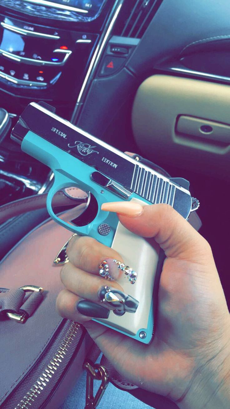 Kimber Micro Bel Air .380 Tiffany Blue Gun